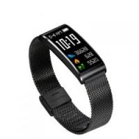 爆款金属钢带智能手环X3蓝牙运动心率血压黑科技外贸新品