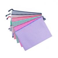 单层065牛津布A4文件袋 防水帆布拉链袋