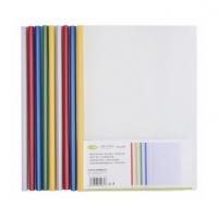 A4透明18c抽杆夹文件夹14C拉杆夹报告夹办公用品文具10个装资料夹