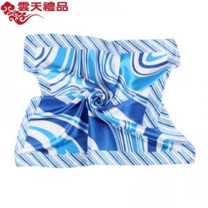 空姐丝巾时尚职业围巾印花小方巾