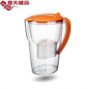 沁园净水杯 QB-CT-101A 橙色 一壶三芯净水壶