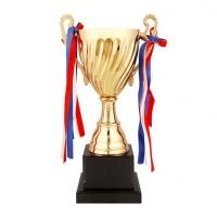 37.5CM定制无盖金属奖杯舞蹈比赛奖杯 学生金属定制奖杯