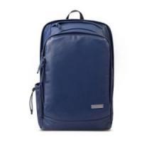 Samsonite/新秀丽双肩包新款时尚休闲皮质书包大容量百搭背包轻盈通勤防泼水书包