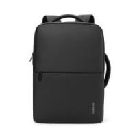 Samsonite/新秀丽时尚新款双肩包男 多功能商务休闲电脑包 黑色大容量男包
