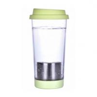 带茶漏便携运动水杯多色可选男女创意塑料促销广告杯