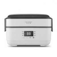 生活元素F6电热饭盒加热保温饭盒插电上班族自动加热蒸煮热饭菜神器保温饭盒