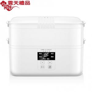 生活元素电热饭盒多功能自动蒸煮饭智能预约可插电加热保温饭盒