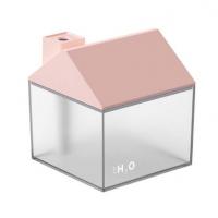 新款小房子三合一USB创意空气加湿器补水内置电池加湿器定制