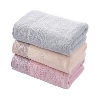 纯棉毛巾70*33 87g全棉提缎面巾洗脸巾定制
