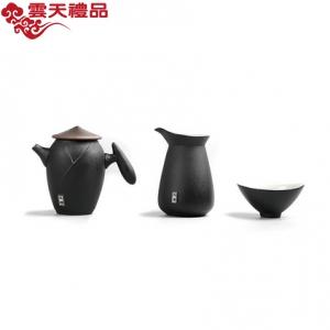 创意功夫茶具套装江湖陶瓷粗陶泡茶壶家用简约中式茶具礼盒定制