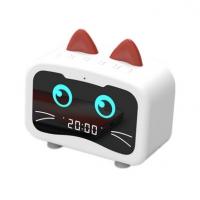 萌宠龙猫音响充电带闹钟收音机蓝牙音响迷你无线蓝牙小音箱定制