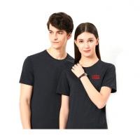 短袖工作服T恤定制企业logo广告衫印字工衣diy新款班服圆领衫定做