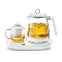 WILDWOOD唯悟F9煮茶壶玻璃一体多功能电热茶壶家用办公室小型煮茶器定制