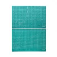 得力切割垫板 A4A3A2规格绿色模型垫 高密度PVC材质高强度切割垫板定制