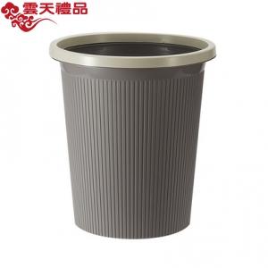 创意简约塑料压圈垃圾桶 家用无盖干湿垃圾桶 环保垃圾分类垃圾桶定制